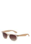 Say What? Sunglasses - Tan, Party, Casual, Vintage Inspired, Spring, Summer