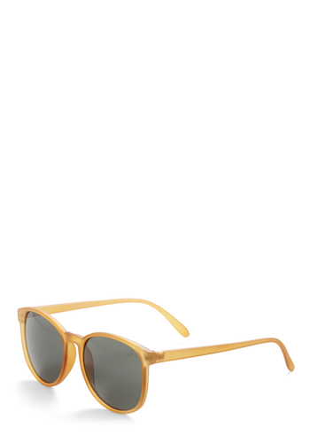 Daylight Cravings Sunglasses - Orange, Solid