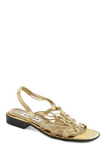 Vintage Wouldn't You Filigree Sandals