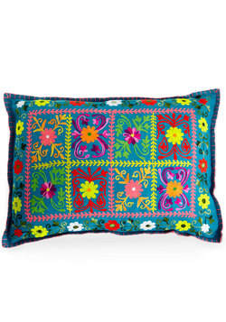 Brights and Songs Pillow in Rectangular