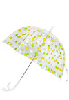 Candy Sprinkling Umbrella in Coconut - Yellow, Green, Polka Dots, Spring