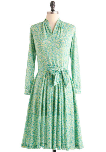 Vintage Dance Flora Delight Dress