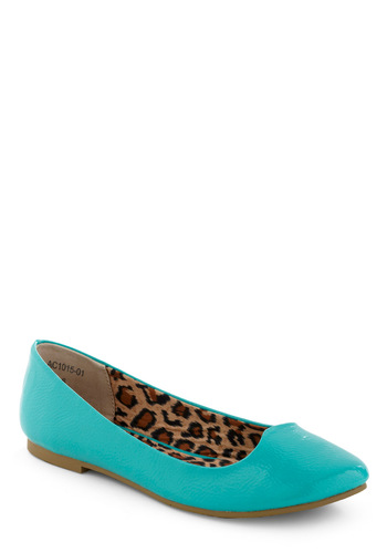 Wild Journey Flat by Bait Footwear - Solid, Blue, Casual, Spring