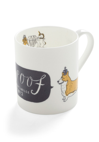 Long Live the Corgi Mug - White, Yellow, Black, Print with Animals, Top Rated