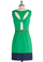 Are You Viridian or Out? Dress