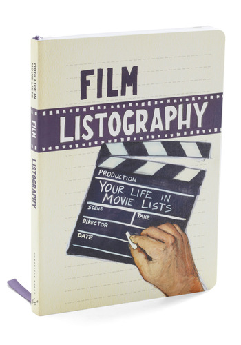 Film Listography by Chronicle Books