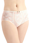 Just As You Dreamed Undies - White, Flower, Lace