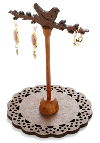 Roost Easy Jewelry Stand - Brown