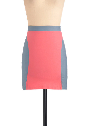 On the Ledo Deco Skirt - Short, Pink, Mini, Purple, Exposed zipper, Party