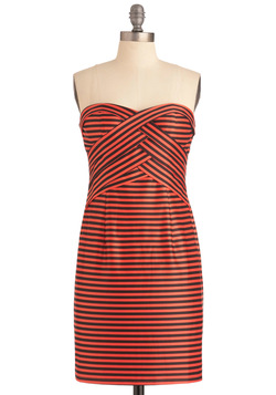 Hyped Stripes Dress