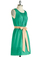 Jade to Order Dress