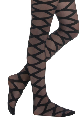 Can You Zig It Tights - Black