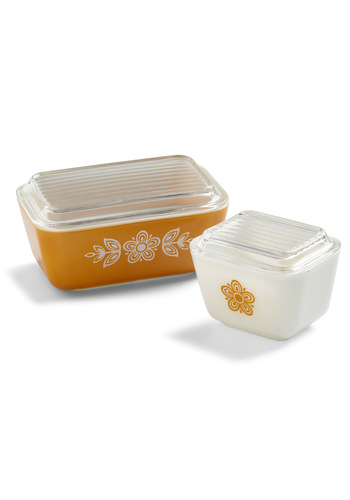 Vintage Refresh Your Fridge Container Set