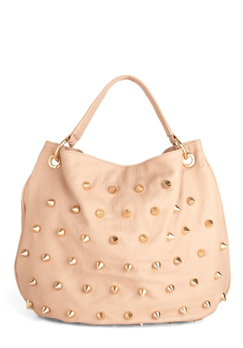 All or Blushing Bag - Pink, Gold, Solid, Studs