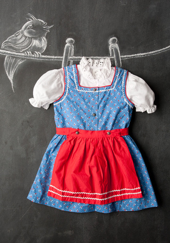Vintage Children's Gretchen Dress