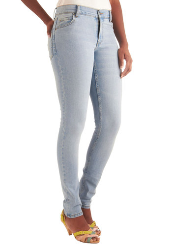 Instant Favorites Jeans by Cheap Monday - Casual, 80s, Blue, Long, Denim