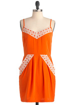 Two to Tangelo Dress