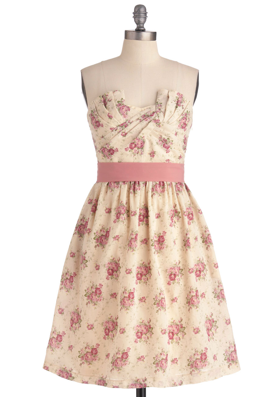 Cottage Tea Party Dress | Mod Retro Vintage Dresses | ModCloth.com