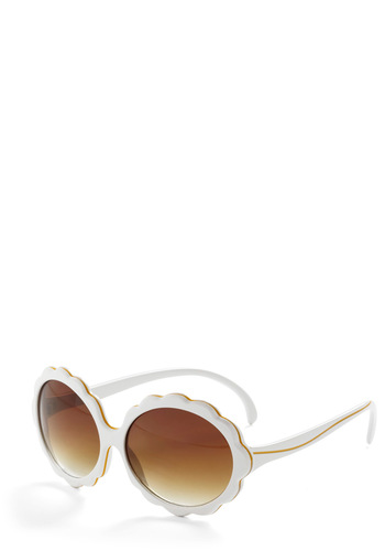 Cloud Covers Sunglasses - Casual, Fruits, White