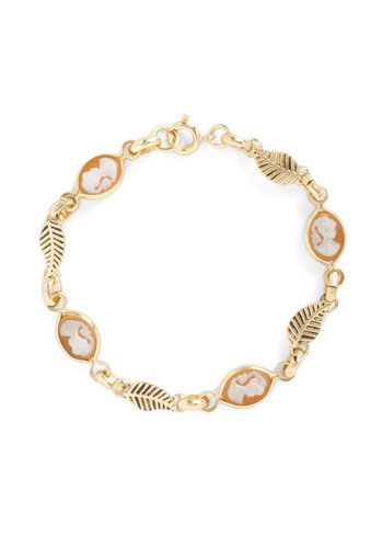 Vis-à-vis Bracelet - White, Gold, Party
