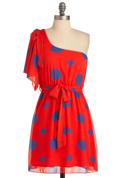 Dot Mention It Dress