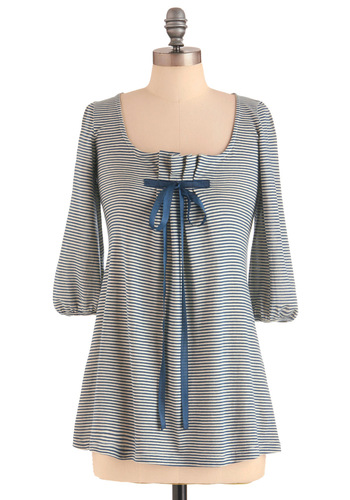 Good Latitude Shirt - Nautical, Long, Cotton