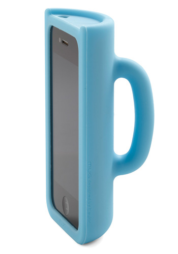 Pick Me Upgrade iPhone Case - Blue, Solid, Eco-Friendly, Quirky
