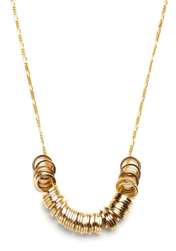 Until Tonight Necklace - Gold, Casual