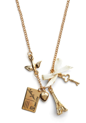 Petite Paris Necklace - Gold