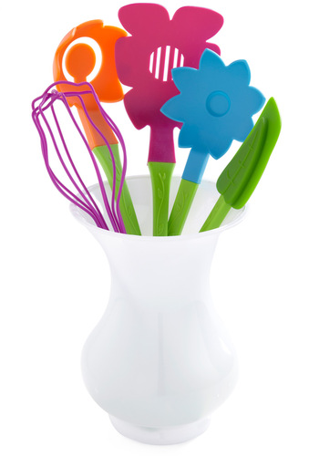 Fresh Skills Cooking Utensil Set by Decor Craft Inc. - Multi, Holiday Sale, Better, Top Rated