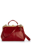 Believe It or Garnet Bag - Red, Solid, Multi, Vintage Inspired, 50s, Variation