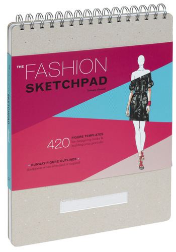 The Fashion Sketch Pad by Chronicle Books - Multi, Handmade & DIY