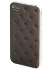 Rating Royalty iPhone Case in Ice Cream by Decor Craft Inc. - Brown, Quirky