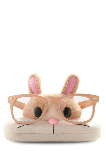 See Creature Glasses Companion in Bunny by Japanese Gift Market - Kawaii, Cream