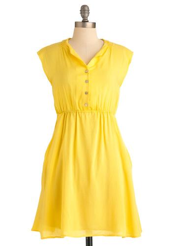 Marigold-en Girl Dress