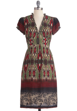 Ikat Resist Dress