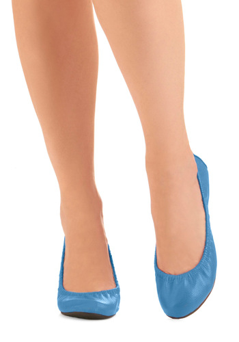 Beat You to the Punch Bowl Flat in Blue - Casual, Urban, Blue, Solid