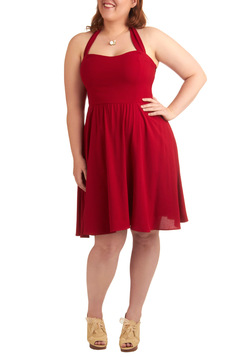 Singing Shirley Dress - Plus Size
