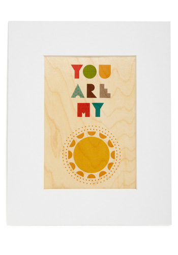 Heart and Sol Print - Multi, Eco-Friendly