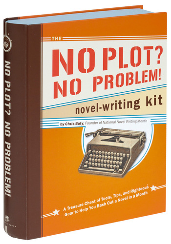 No Plot, No Problem Novel Writing Kit by Chronicle Books - Handmade & DIY