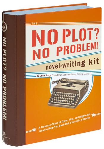 No Plot, No Problem Novel Writing Kit