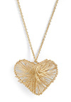 A Love Wire Necklace - Gold, Solid, Casual