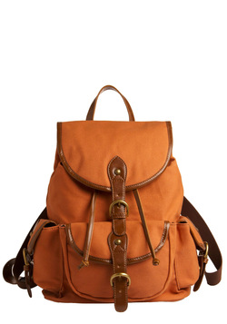 Backpack to the Future Bag in Pumpkin