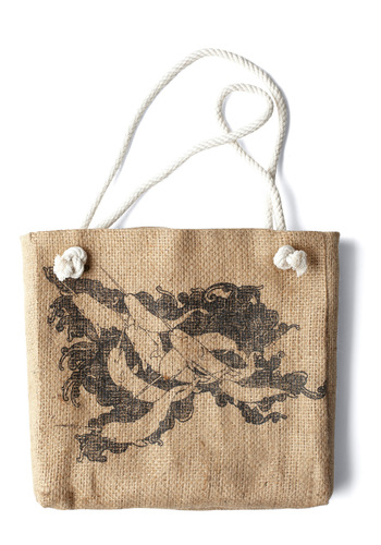 Do Whale by Doing Good Bag - Black, Print with Animals, Casual, Tan