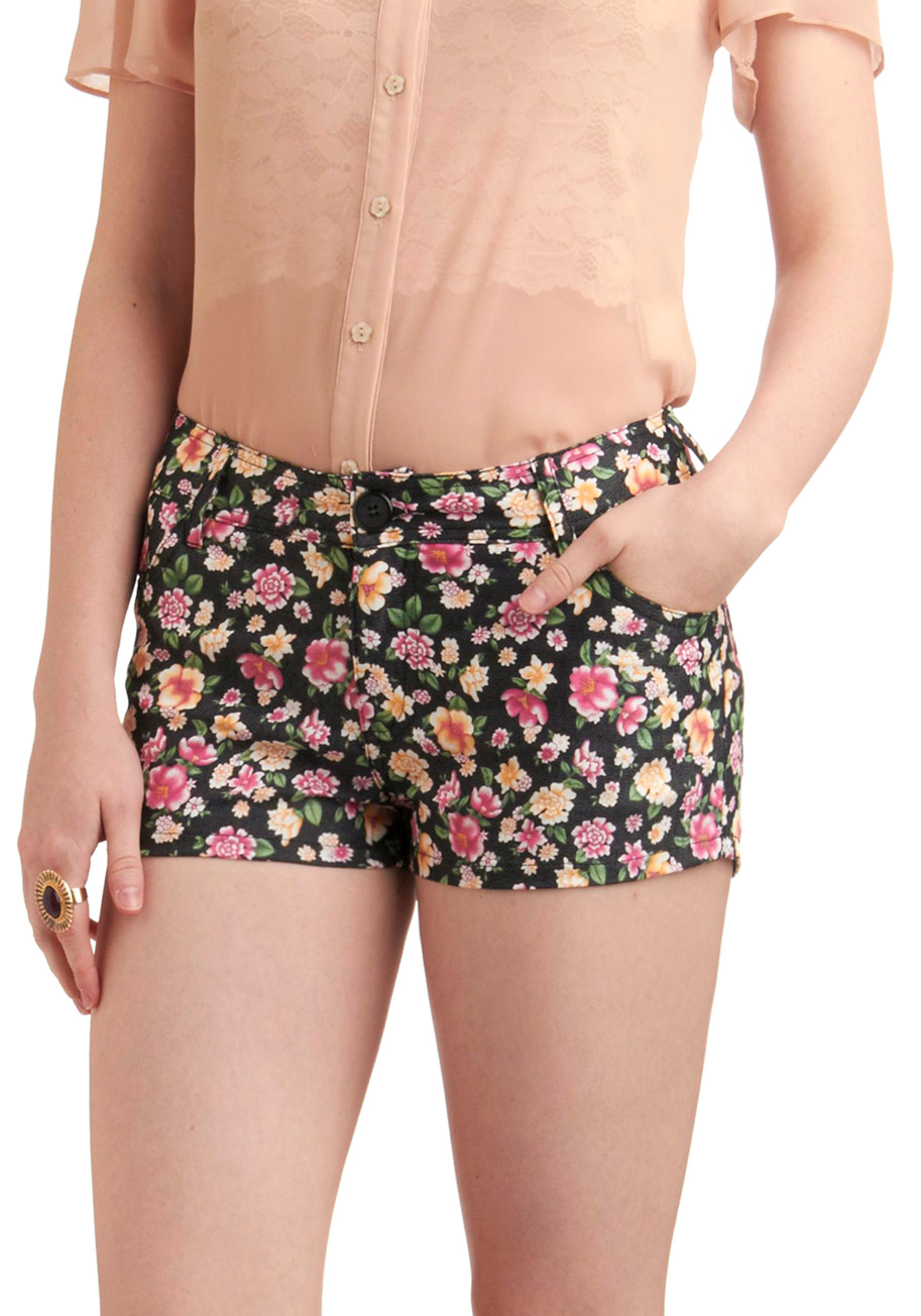 My daughter loves these. Wallflower jeans are an amazing buy, and their fit is amazing. The material is soft with nice stretch, and maybe a little thinner than the really expensive designer brands, but these shorts are cute and on-trend for this season, so really, it is not an issue.