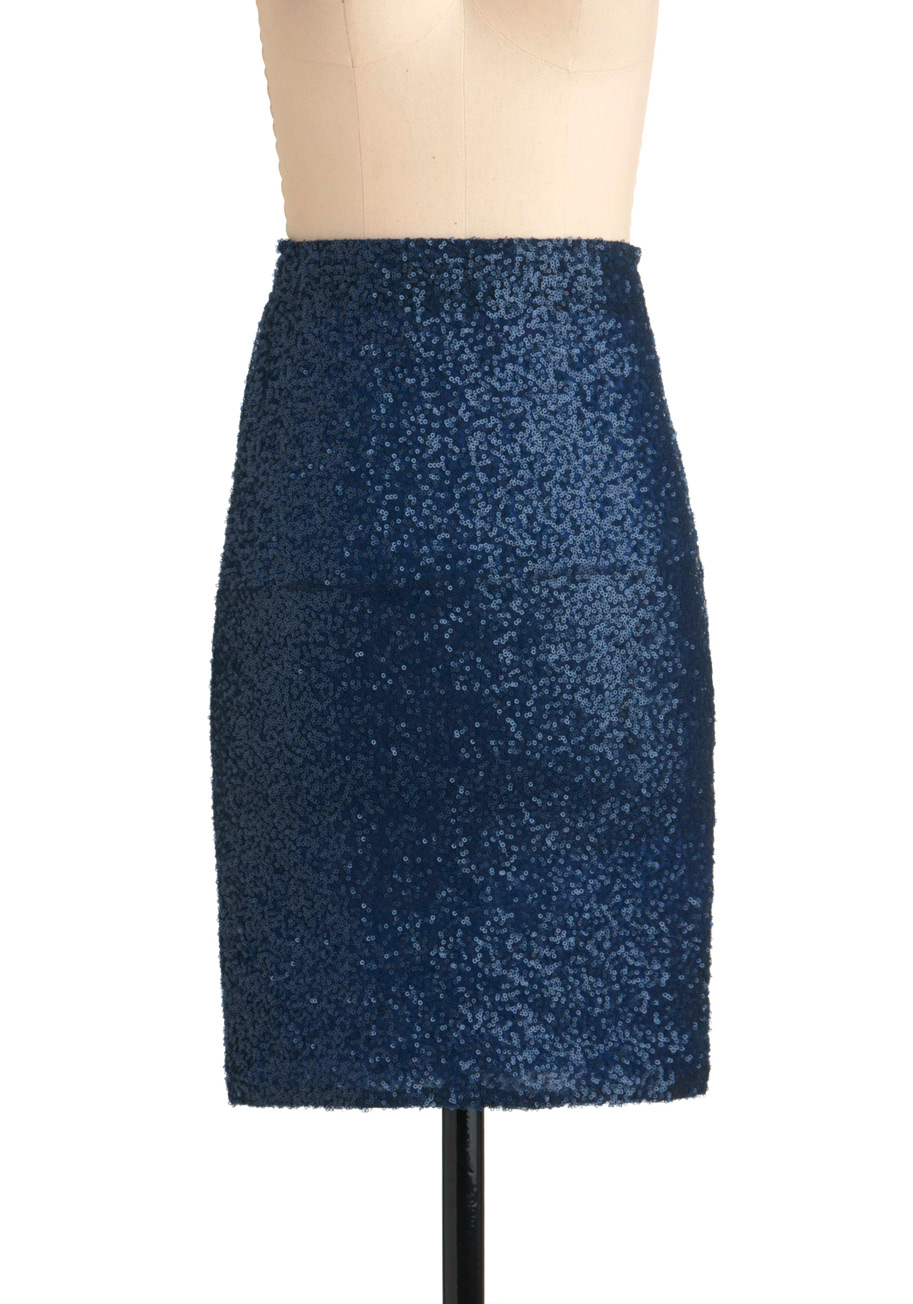 Sequin-tial Decisions Skirt | Mod Retro Vintage Skirts | ModCloth.com