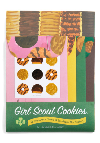 Girl Scout Stationery Set by Chronicle Books - Multi