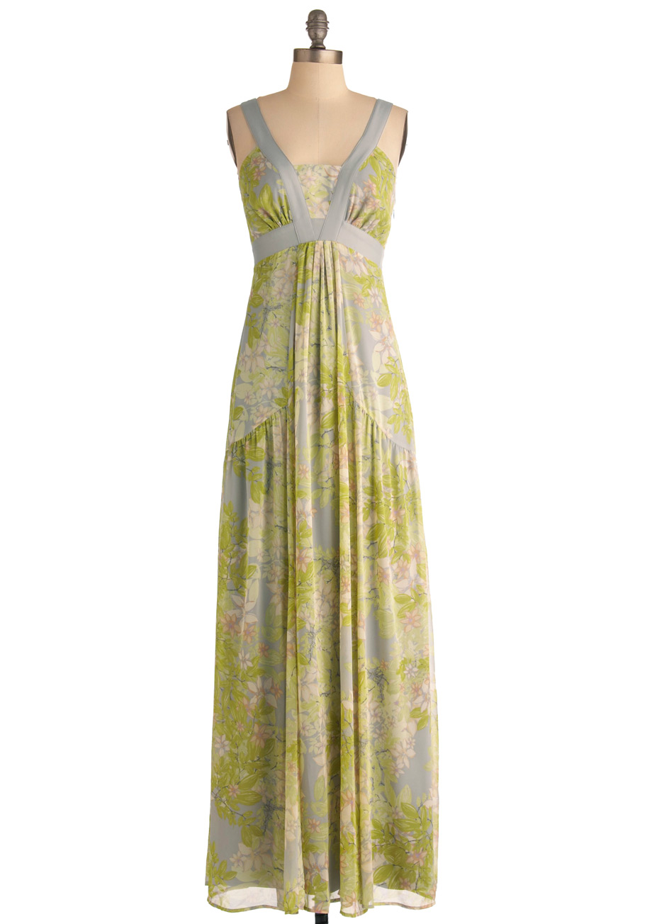 Garden Party Goddess Dress Mod Retro Vintage Dresses