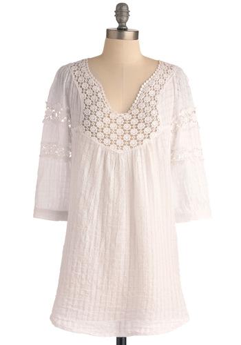White Tunic ModCloth