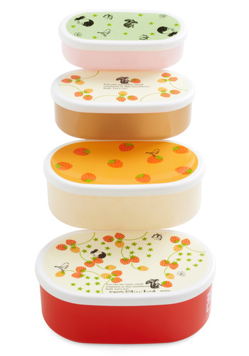 Berry Well Deserved Bento Box Set by Shinzi Katoh - Multi, Eco-Friendly